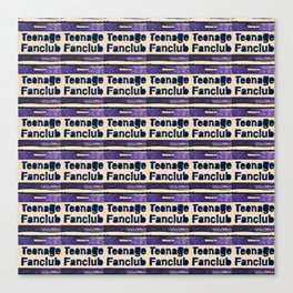 A Teenage Fanclub Canvas Print