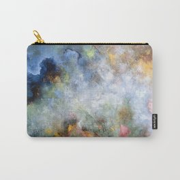 Colorful Abstract Clouds No.5 Carry-All Pouch