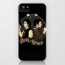 Duel in Space iPhone Case