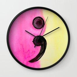 semi colin ; Wall Clock