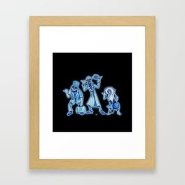 The Hitchhikers Framed Art Print