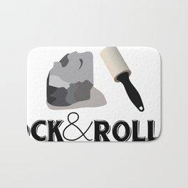 Rock and Roller Bath Mat