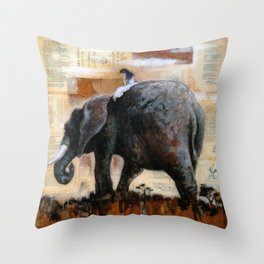 The Majestic Throw Pillow