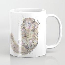 Rainbow Squirrel Coffee Mug