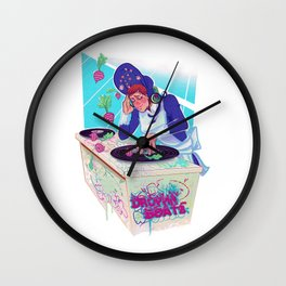 Amelia Bedelia drops the beat Wall Clock
