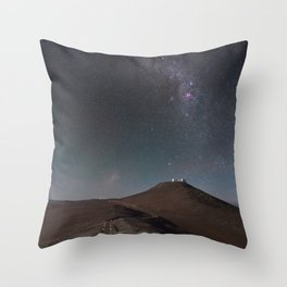 The Road to Paranal Throw Pillow