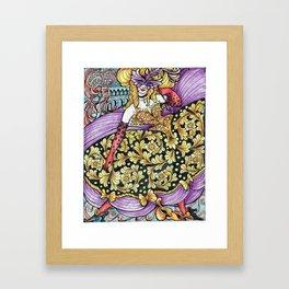 """Beauty at Carnevale"" Framed Art Print"