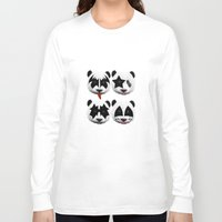 kiss Long Sleeve T-shirts featuring kiss by mark ashkenazi
