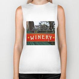 Winery Biker Tank