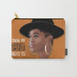 My Blackness Powerful Carry-All Pouch