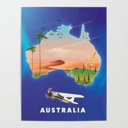 Australia travel poster Poster