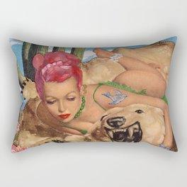 Desert Bare Rectangular Pillow