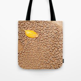 Dry sand textures Tote Bag