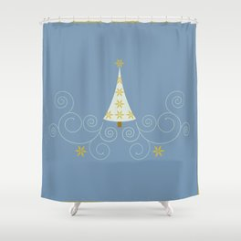 Holiday Greetings! Shower Curtain