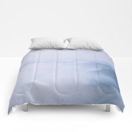 Sacred Cove Shrouded in Blue Mist Comforters