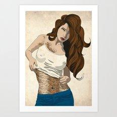 Snake Art Print