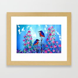 I Love Being With You Framed Art Print