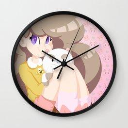 2 cute 2 poot Wall Clock