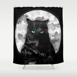 night watch Shower Curtain