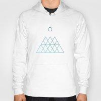 geometry Hoodies featuring Geometry by Geometry