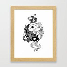 Yin Yang Tents Framed Art Print