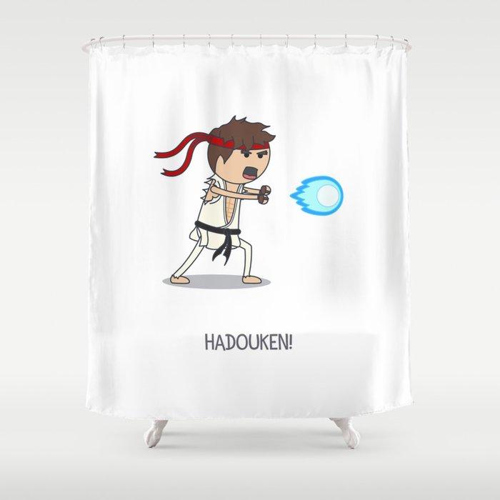 Hadouken! Shower Curtain