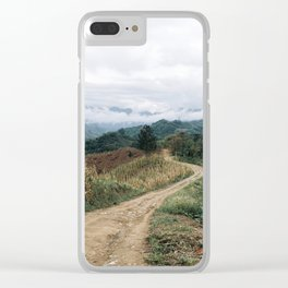 Guatemala Cloud Forest Clear iPhone Case
