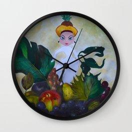 I dream of Fruits Wall Clock