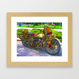 Old Man - Still Rollin' Framed Art Print