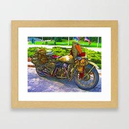Old Man - Still Rollin' Framed Art Print