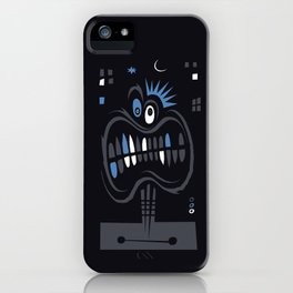 Strangers in the night, exchanging glances iPhone Case