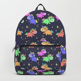 Nightime Unicorns Backpack
