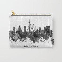 Brighton England Skyline BW Carry-All Pouch