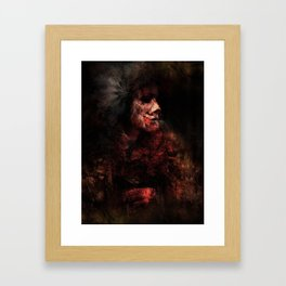 Red Chief Framed Art Print