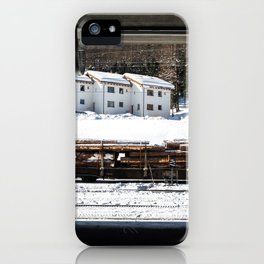 Platform. iPhone Case