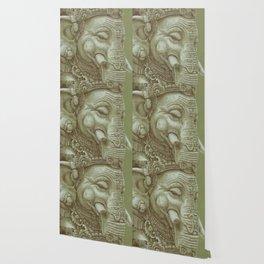 Ganesh green Wallpaper