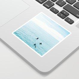 Flat Ocean Sticker