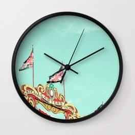 Union Jacks Wall Clock
