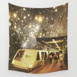 Enter the night  Wall Tapestry