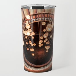 Spiral of Lights Travel Mug