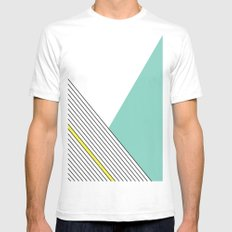 MINIMAL COMPLEXITY Mens Fitted Tee White MEDIUM