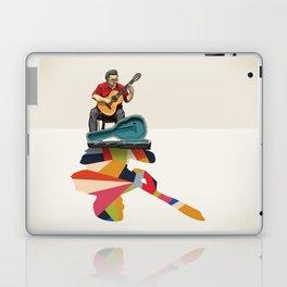 Walking Shadow, Guitarist Laptop & iPad Skin