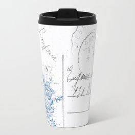 Lucienne in Grey Travel Mug