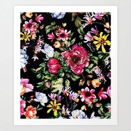 RPE FLORAL VI Art Print