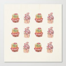 cake pattern Canvas Print