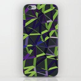 3D Futuristic GEO Lines XIV iPhone Skin