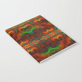Yucatan Psychedelic Mexicano Visiones Notebook
