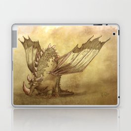 Del, the lonely desert dragon Laptop & iPad Skin