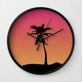 Lazy Summer Wall Clock