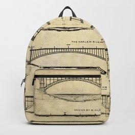 Washington Bridge Proposal Blueprint Plans Backpack